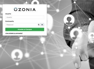 Plataforma de Teleformación de OZONIA